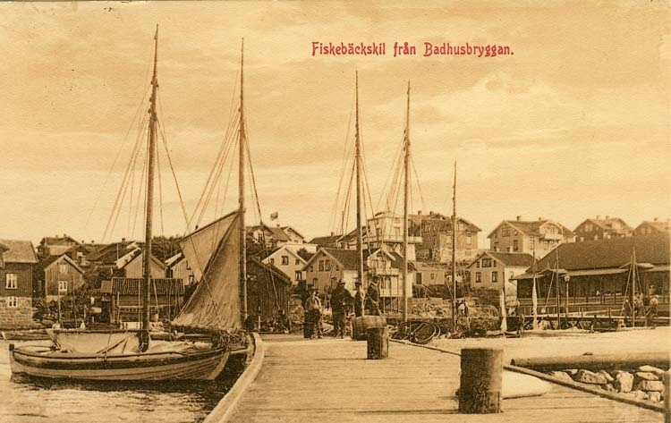 Fiskebäckskil från Badhusbryggan.