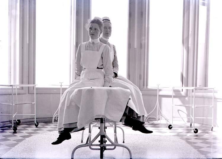 Sjuksköterskor vid sekelskiftet 1900