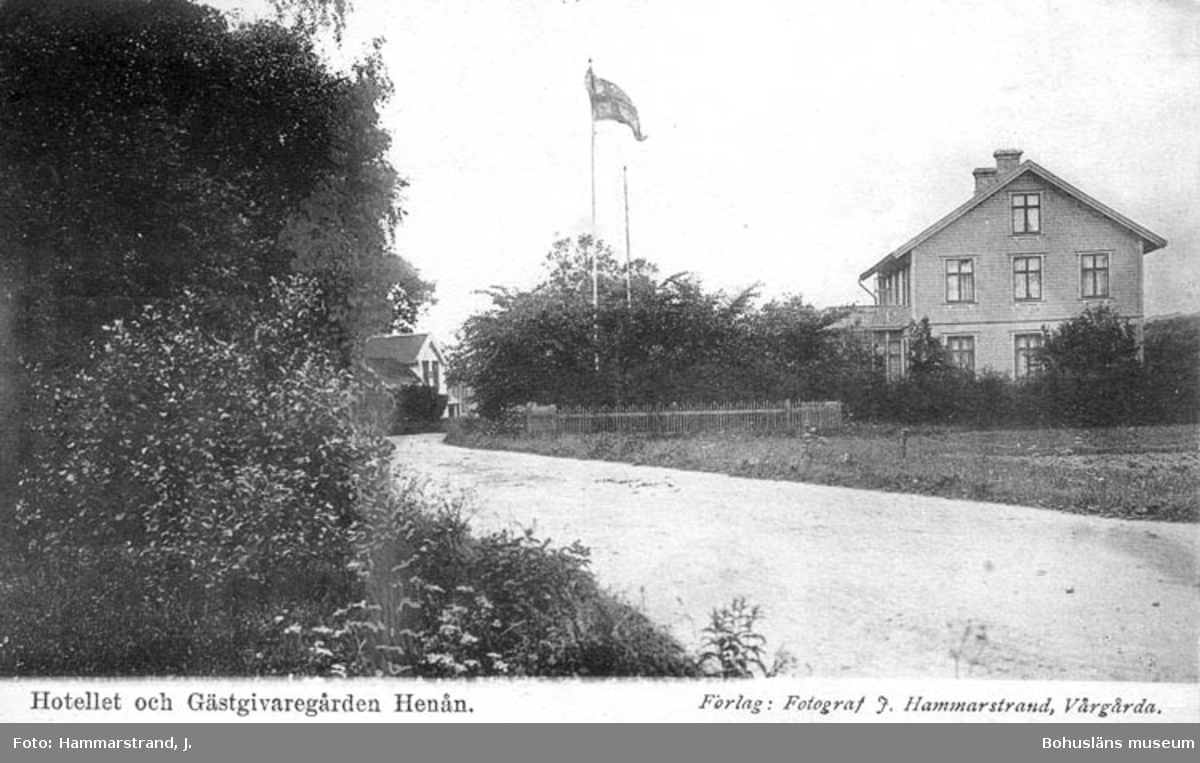 Hotellet och Gästgivaregården Henån.