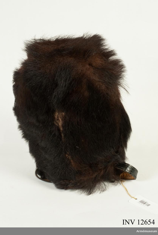 Grupp C I. Av björnskinn, utan emblem. Från FFV, överskottsförsäljningen.