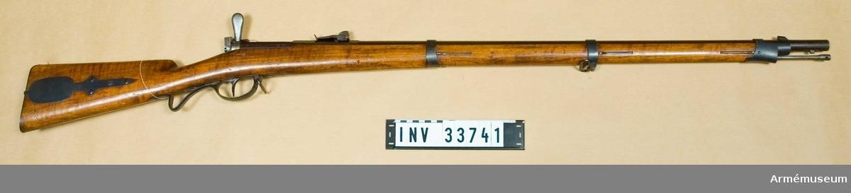 Grupp E II Sachsisk modell. Kal 13 mm.