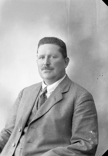 "Enligt fotografens journal nr 5 1923-1929: ""Bengtsson, Herr Hj. Stenung Här""."