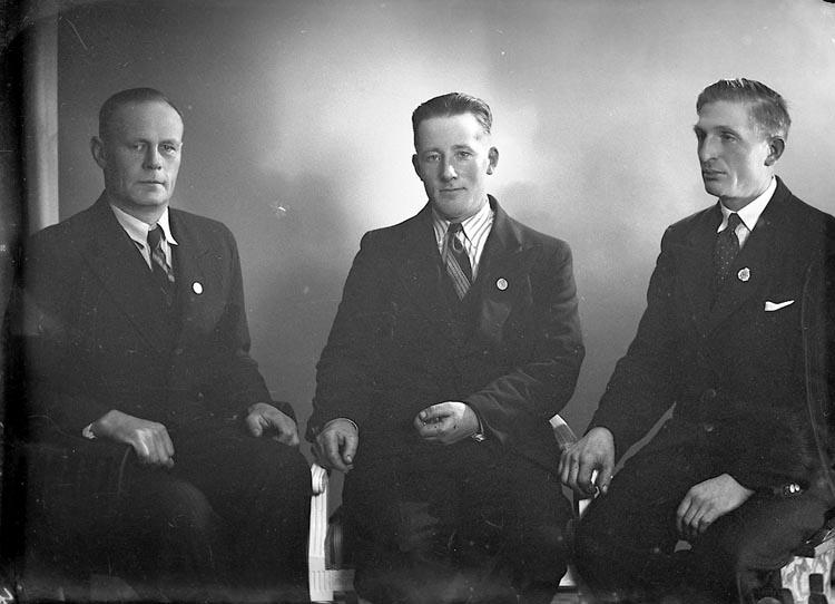 """Enligt fotografens journal nr 6 1930-1943: """"Andersson, Herr Georg Stenung, Här""""."""