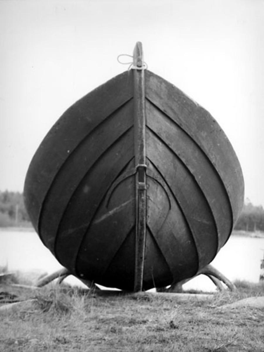 Skrivet på baksidan: Byske sn., Båtril, Skötbåt