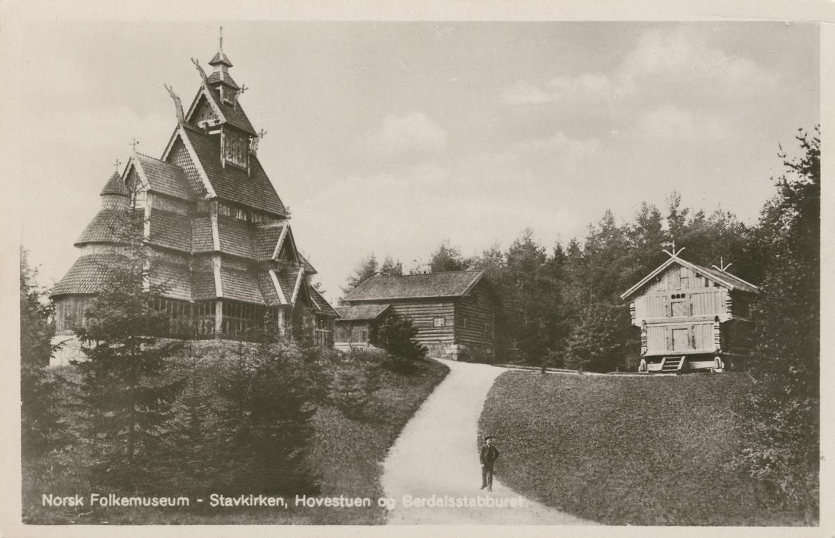 Restaurering av Gol stavkirke [Fotografi]