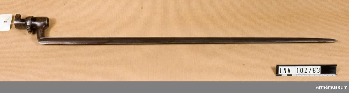 Bajonett m/1860