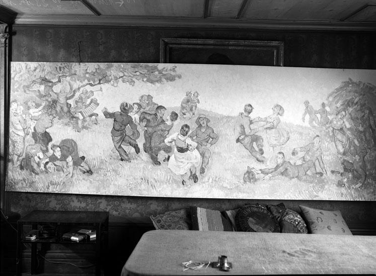 """""""Uddevalla. Tavla av Gunnar Thelander."""" uppgift enligt fotografen"""