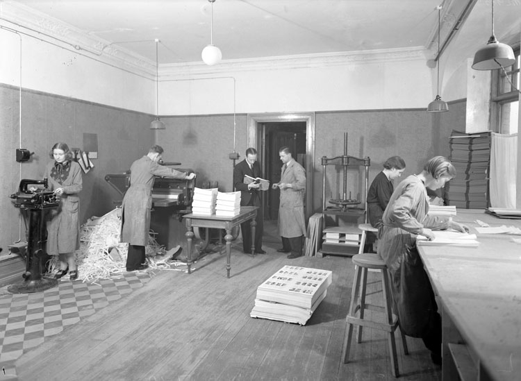 Bohusläningens Tryckeri 1937
