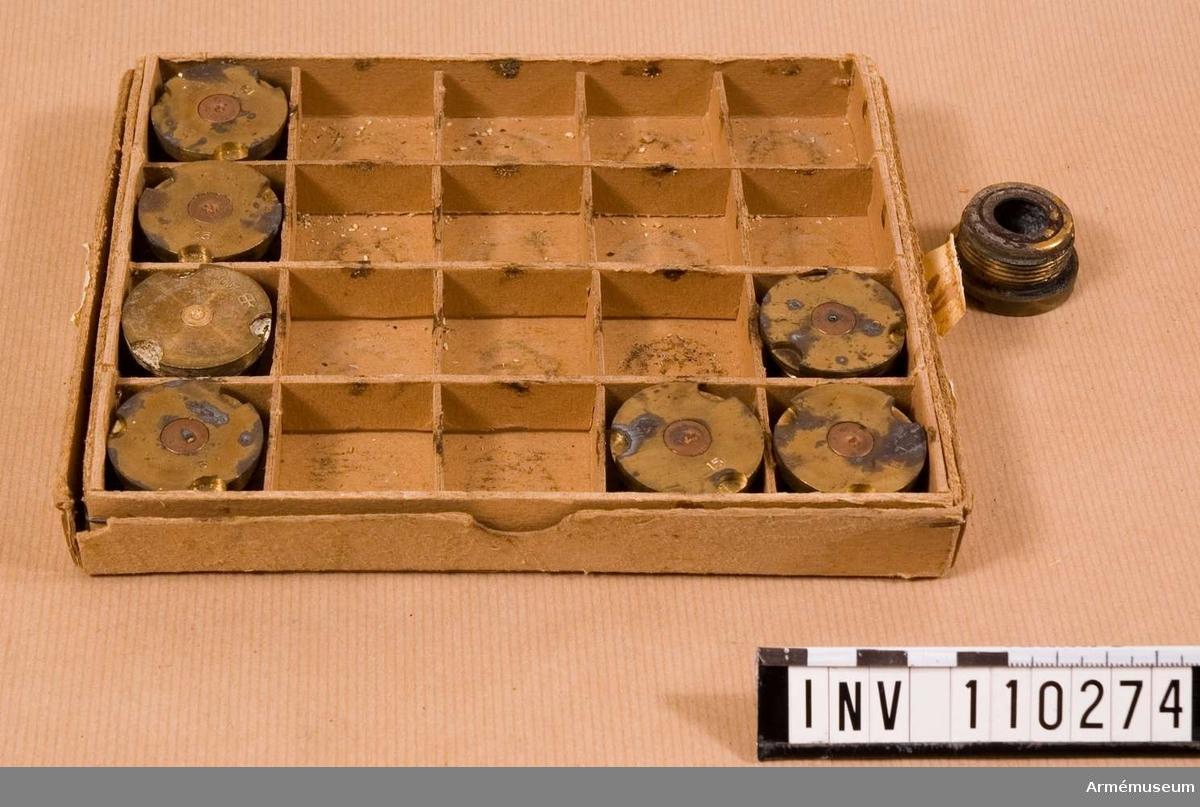Tändskruv 40 mm m/39 E, 8 st i låda