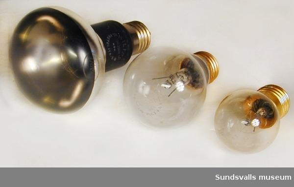 Spotlight och två glödlampor