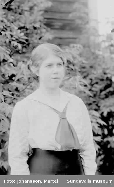 Troligen Hanna Persson.
