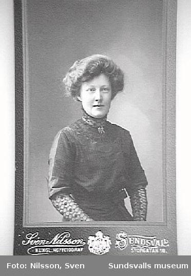 Ellen Grundström, lärare.
