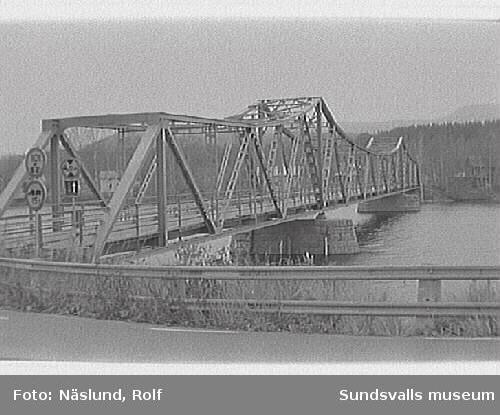 Bron över Ljungan. Viskan.