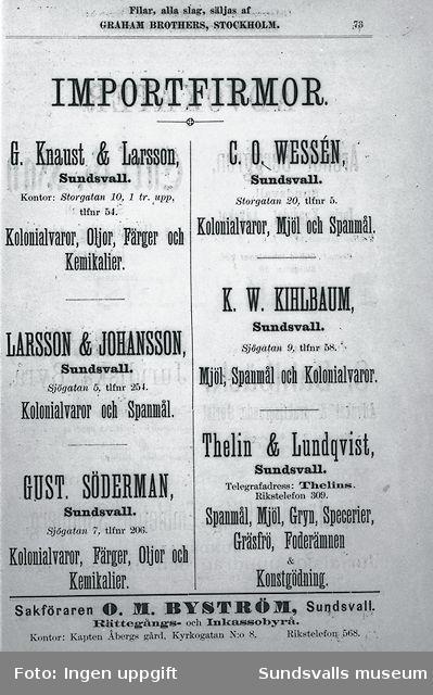 Thelin & Lundqvist