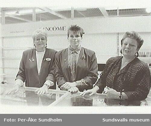 Varuhuset Forum, Storgatan 28 , Sundsvall. Inför nedläggningen 1995-01-28.