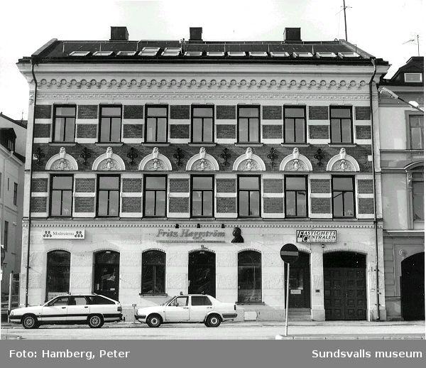 Sjögatan 2, Moderaternas partilokal. (Tidigare Mercurius 4)