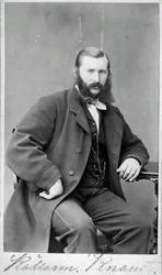 Visitkort. Källarmästare Gustaf Ferdinand Knaust, Borelius f