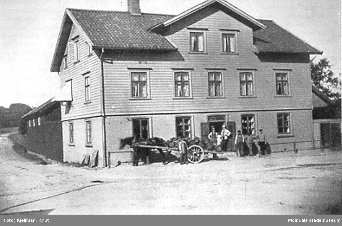 Nymans hus, Göteborgsvägen 1.