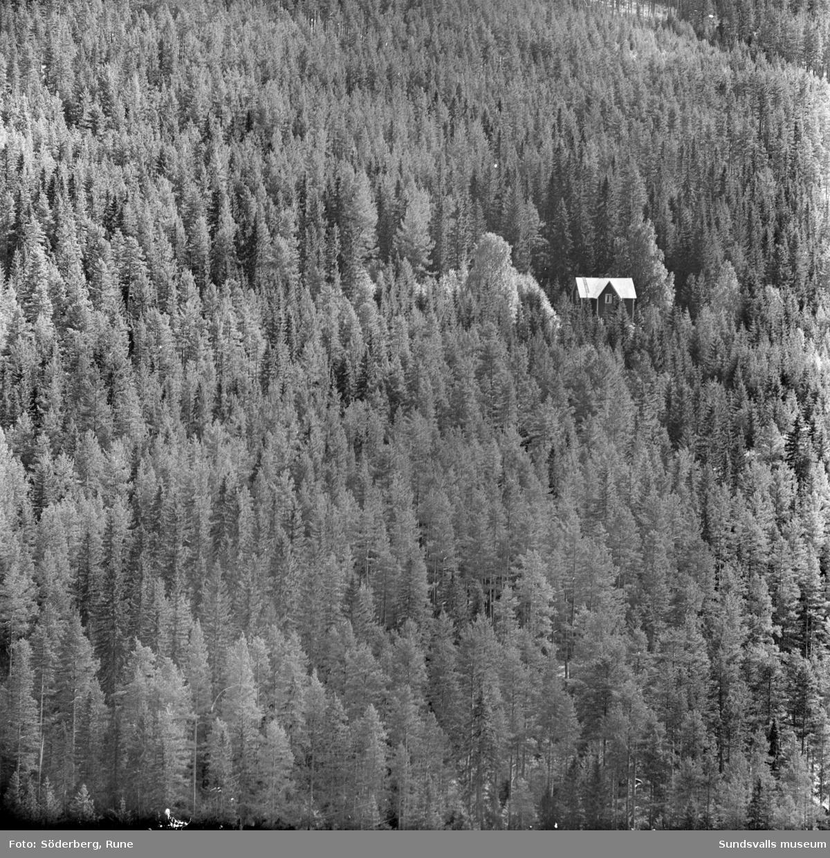 Utsikt från Hattberget, Järkvissle.
