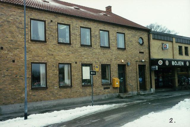 Postkontoret 371 03 Karlskrona Fiskhamnen, Saltö