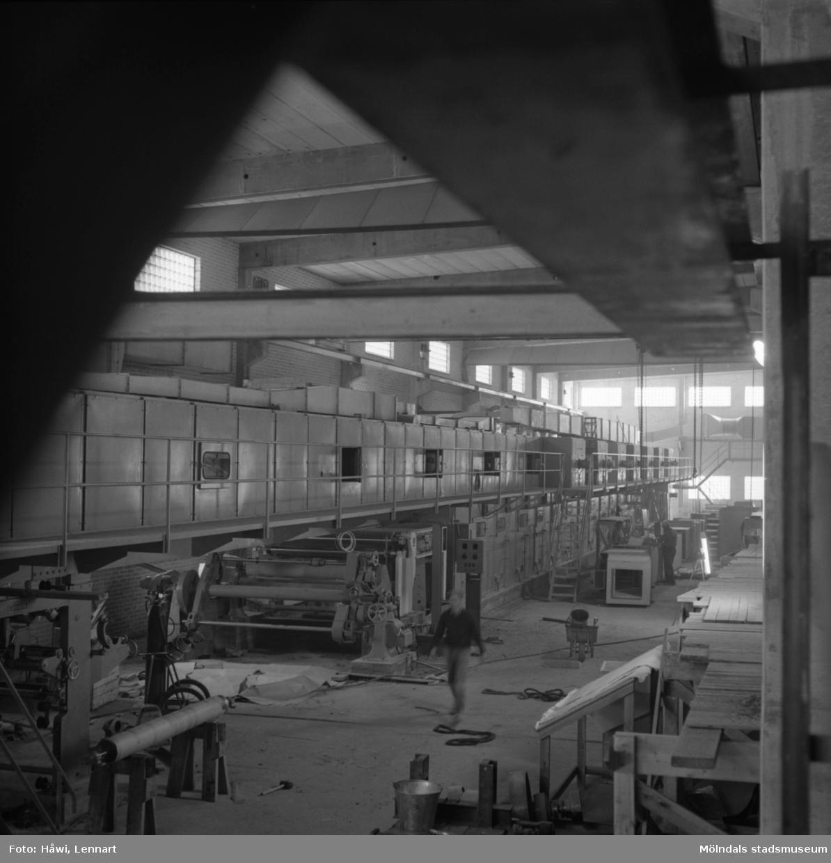 Målmaskin nr 1 på Papyrus i Mölndal, 17/9 1963.