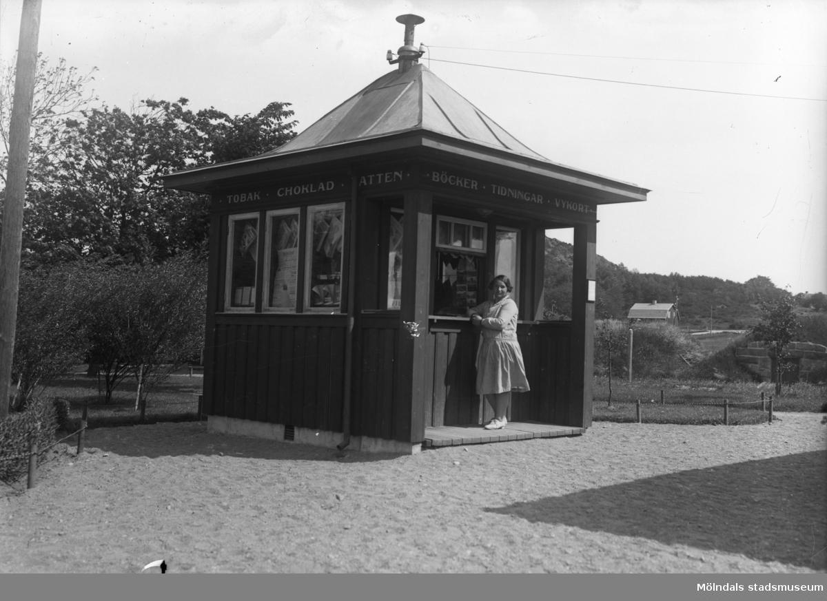 Kiosk i Lindome.