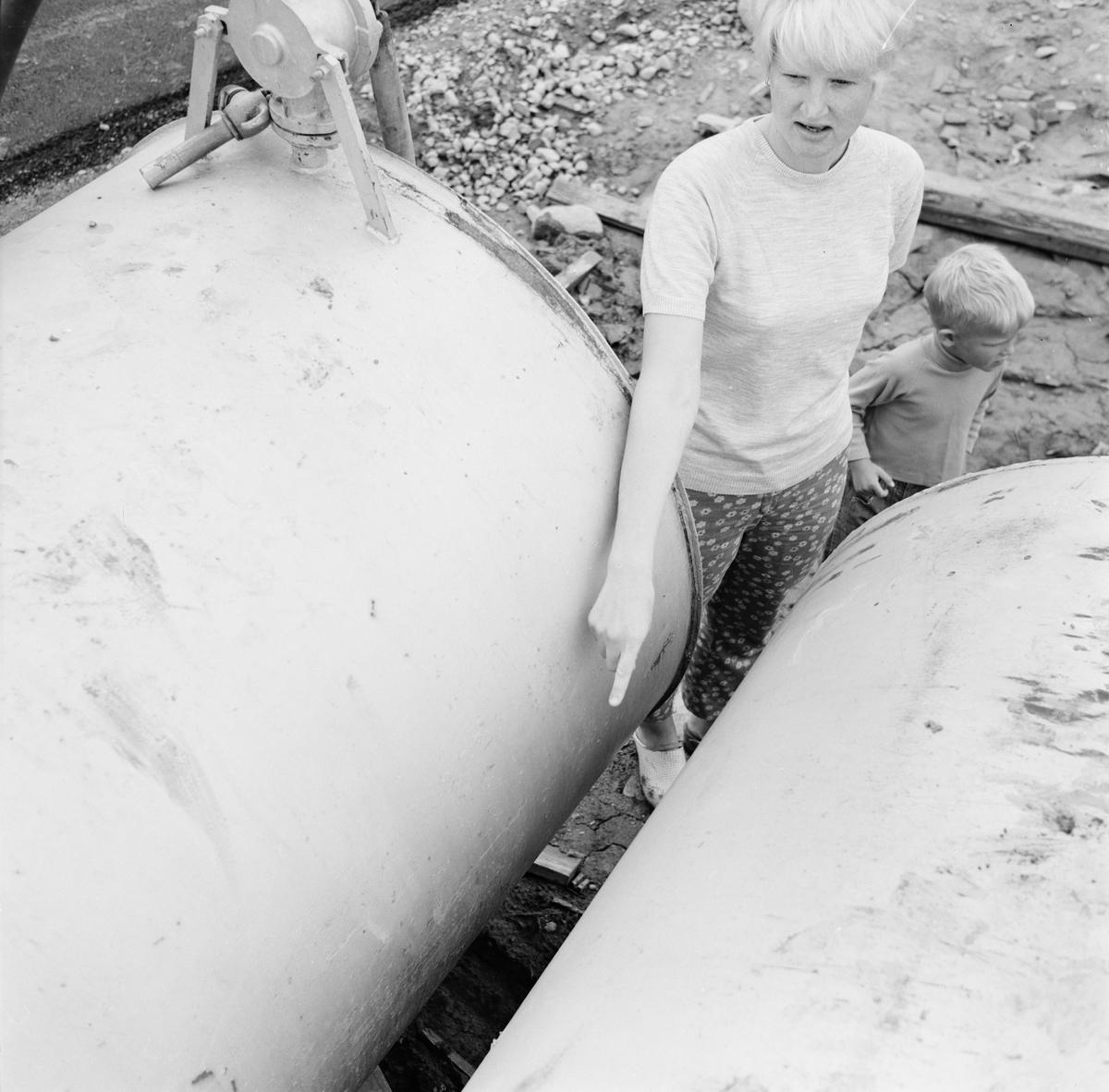 4-åring skadad, sannolikt Tierp, Uppland, juni 1968