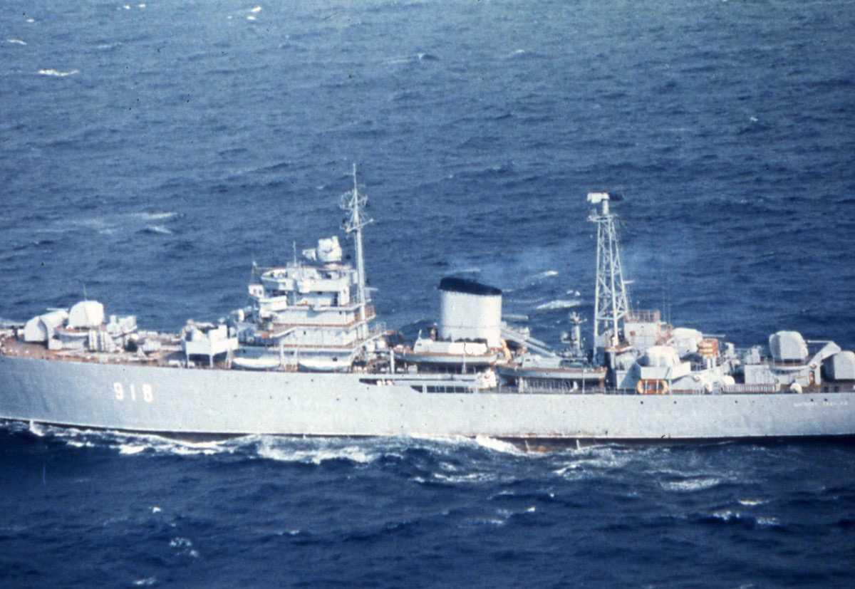 Russisk fartøy av Don - klassen med nr. 918.