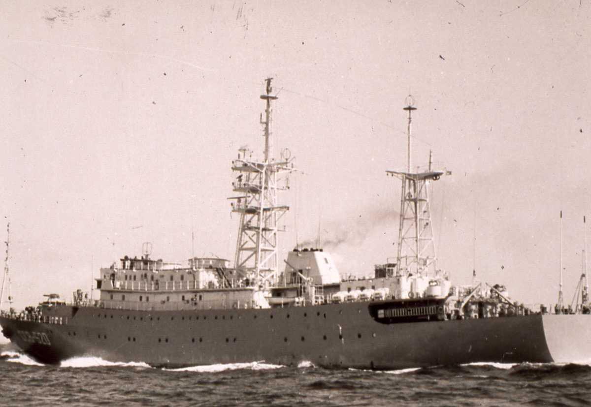 Russisk fartøy av Vishnya - klassen med nr. SSV 520.