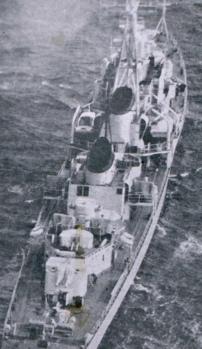 Russisk fartøy av Skory - klassen.