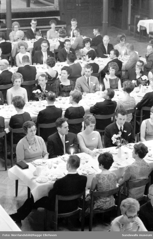 Söderberg  & Haaks 100-årsmiddag på Stadshussalongen.