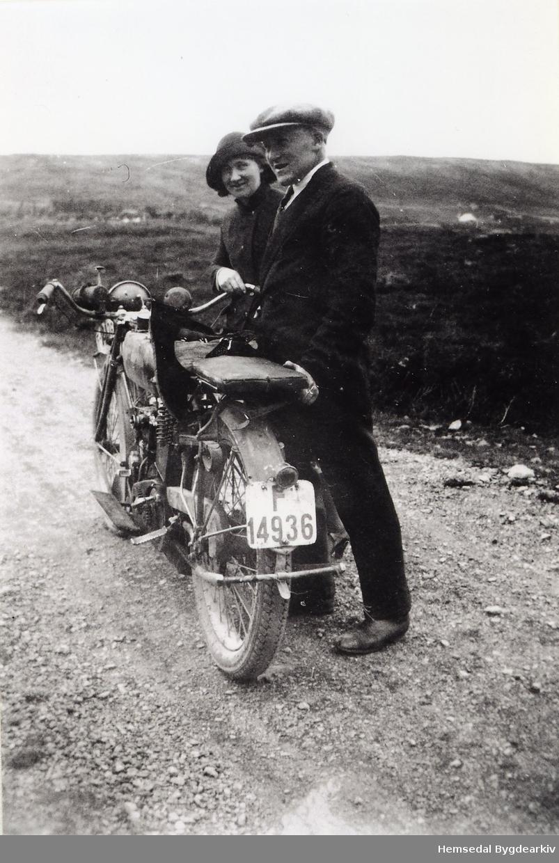 "Alice Svare og Iver Svare Motorsykkel, ""Indian Power Plus""."