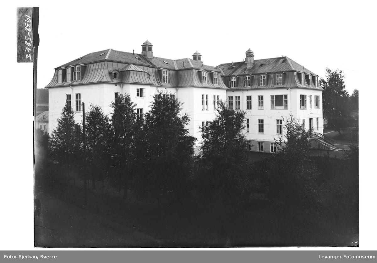 Sykehusets murbygning av 1916