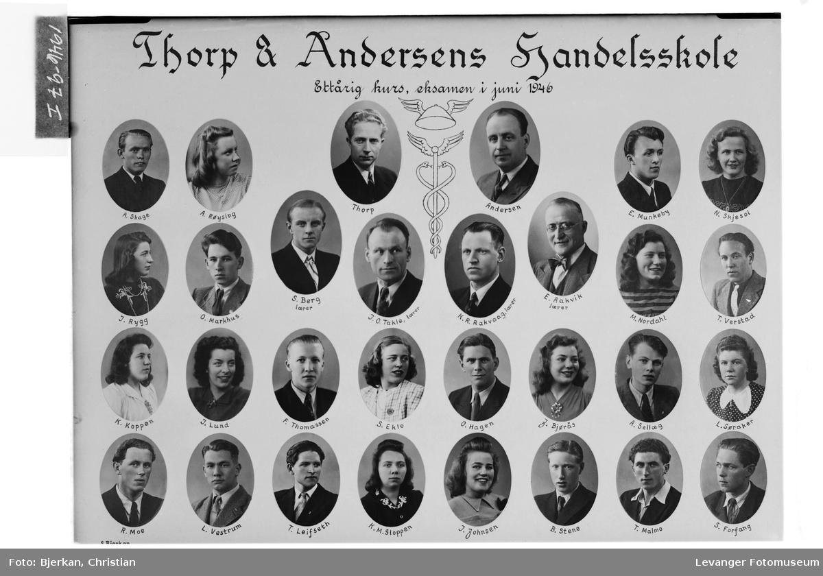 Thorp & Andersens Handelsskole, 1946