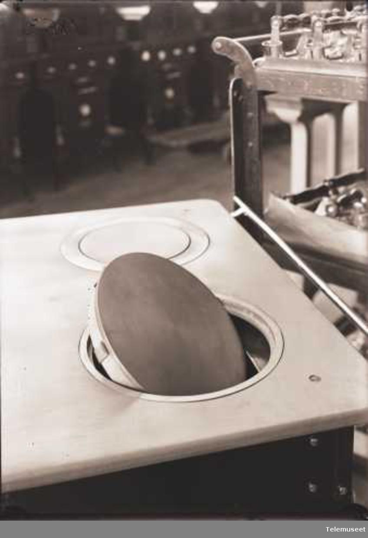 Kokeplateelement i Rex komfyr, Elektrisk Bureau.