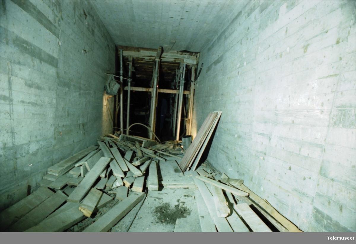 Fjellsikringsanlegg, tunnell ved Kristi Krybbe skole