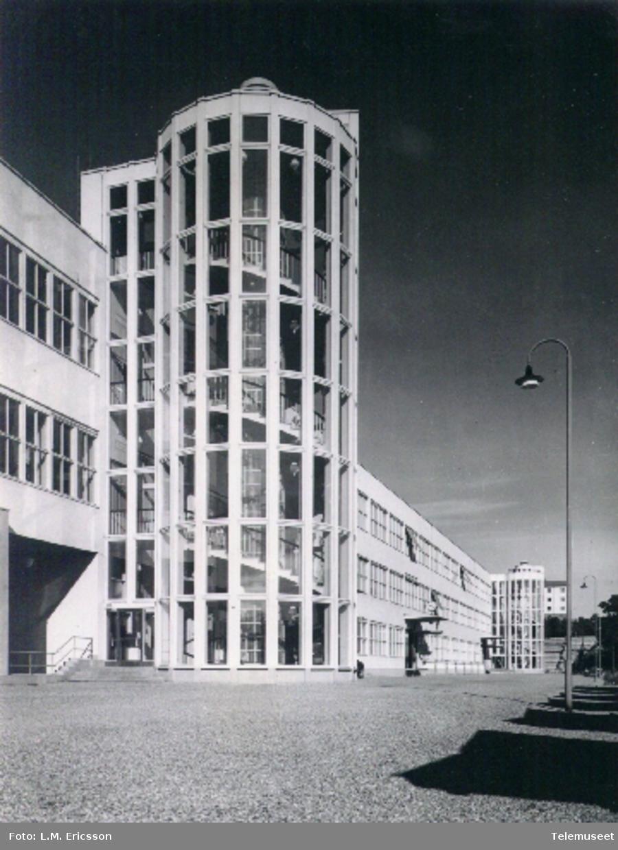 Fabrikker LME østre fasade