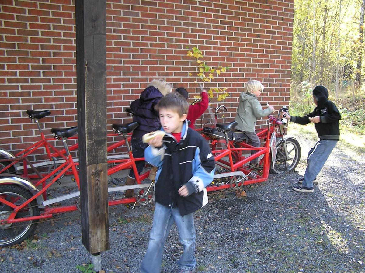 Høstferie 2007, Berg-Kragerø Museum Aktivitetsdag for barn i høstferien.