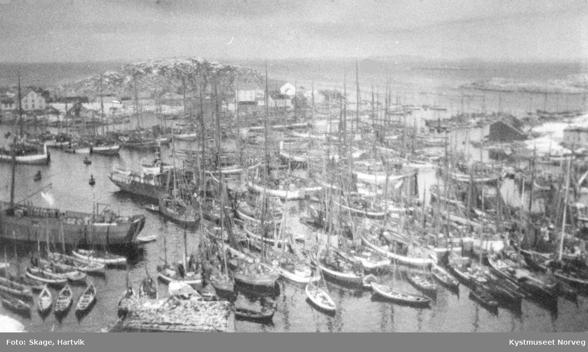 Sør-Gjæslingan i fiskesesongen