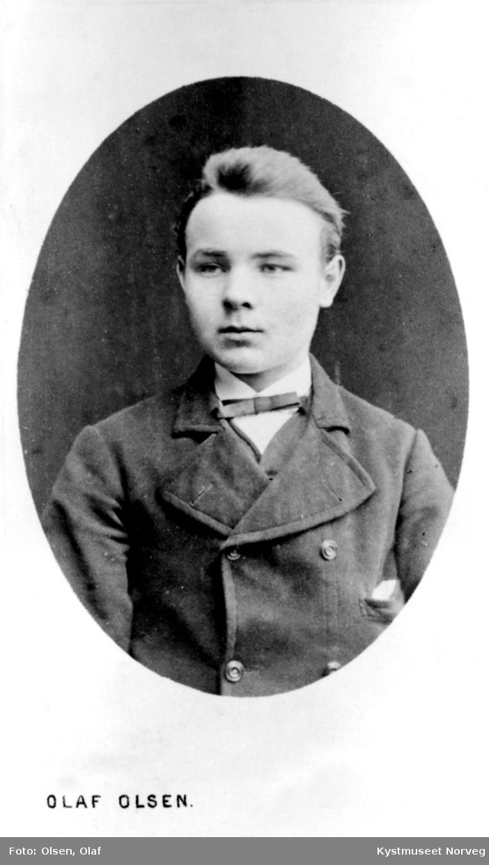 Portrett av ukjent gutt