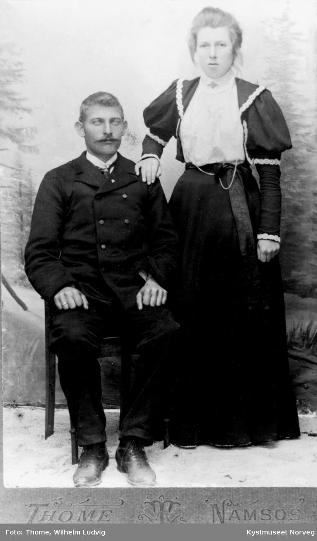 Hilda og Rikard Bondø