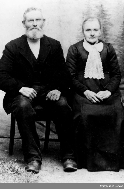 Johan Mikal Olsen og Karoline Nilsdatter Øydal Olsen