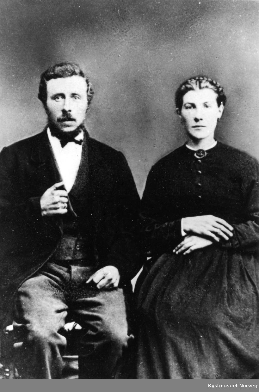 Matheus Gedius Larsen og Margrethe Ingebrigtsen Larsen