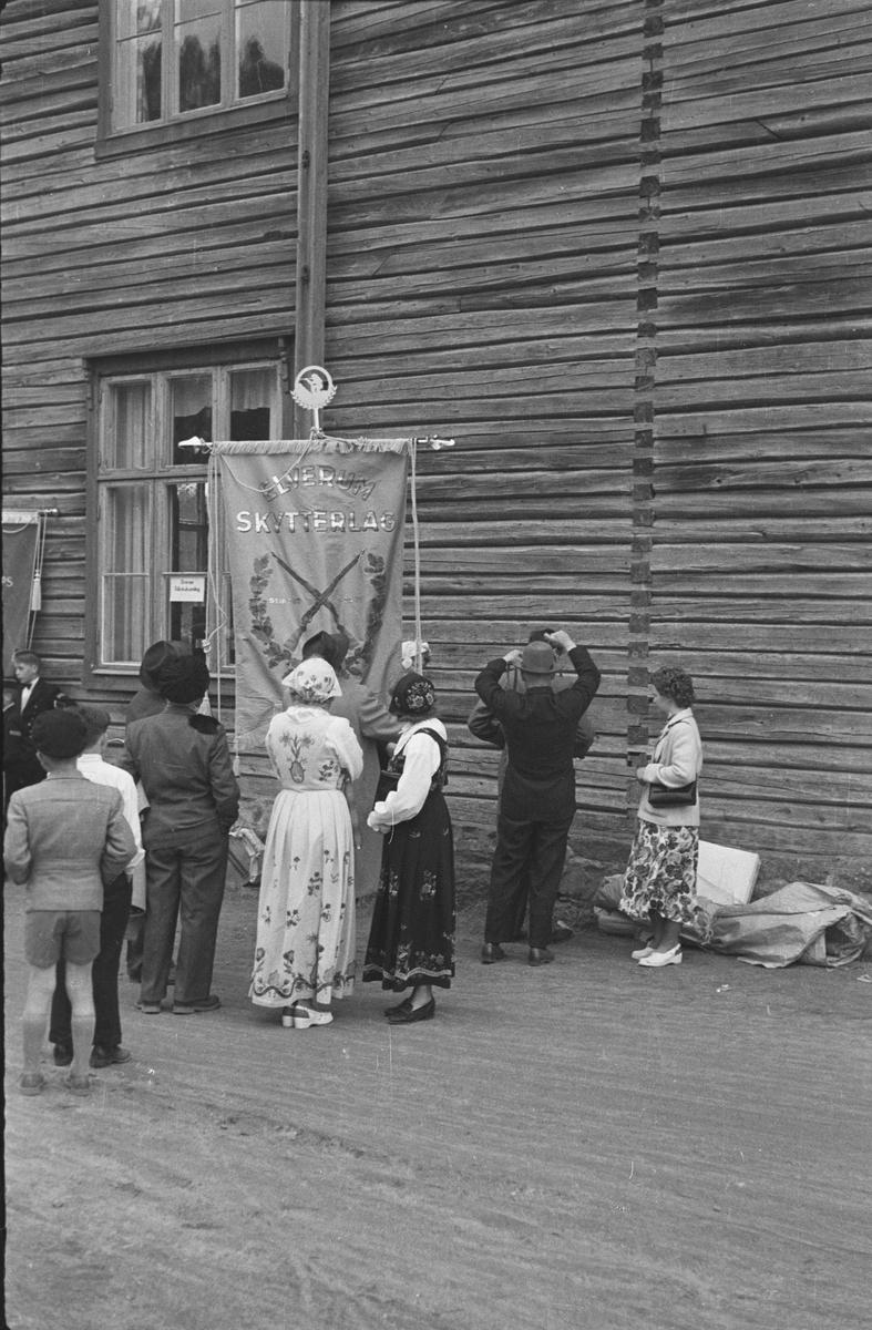 17. mai. Elverum.  1950-tallet.