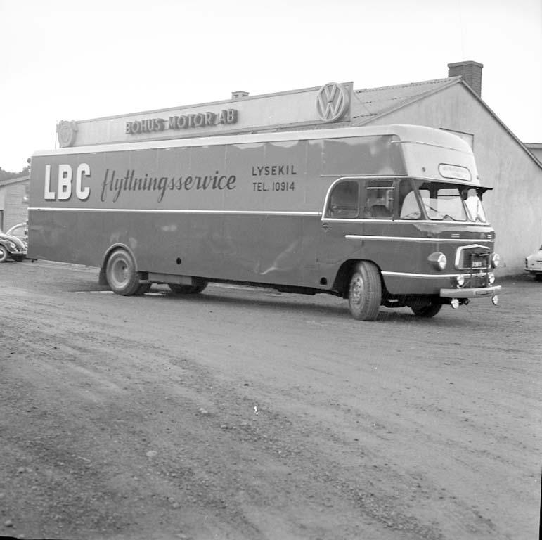 Lastbilscentralens flyttbuss