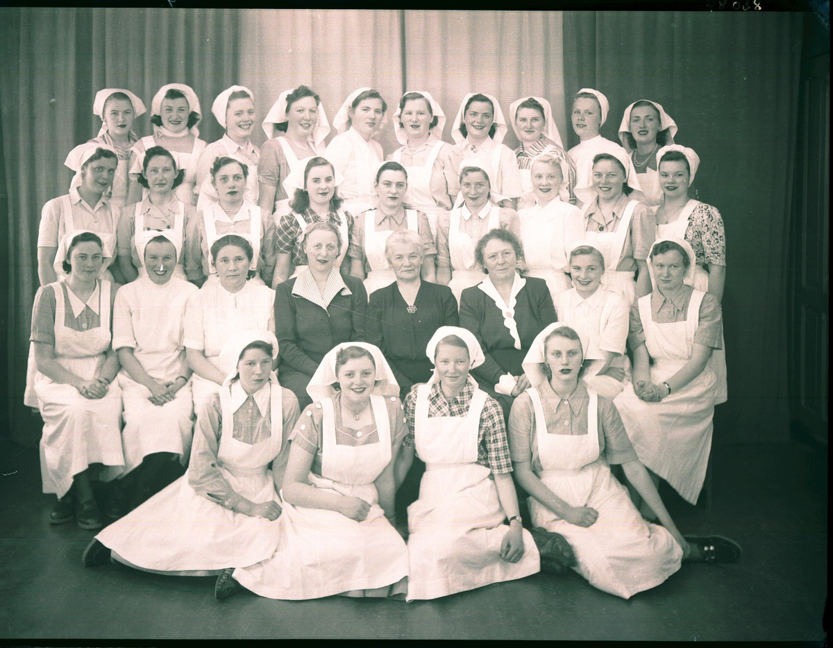 Gruppebilde - Haugesund Husmorskole