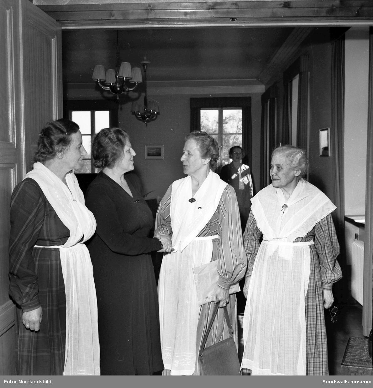 Husmodersföreningens 30-årsfest.