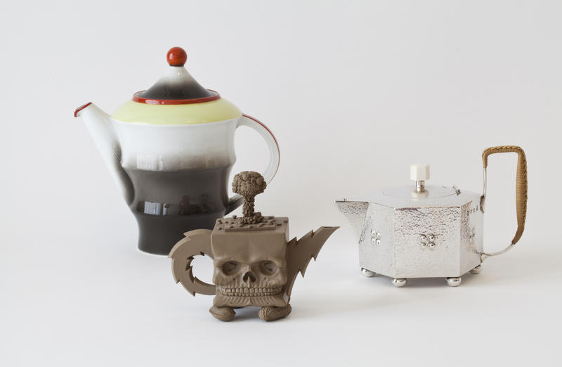 Tre ulike kanner fra museets samling