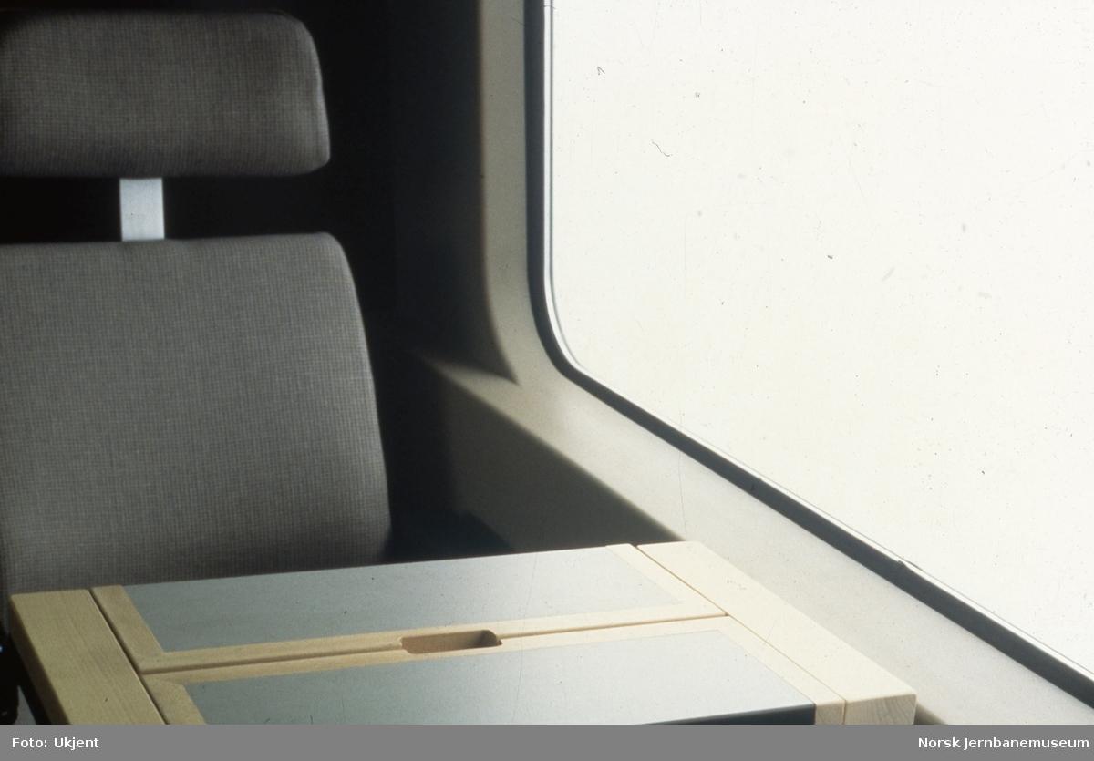 Personvogn litra AB7 - sete på 1. klasse
