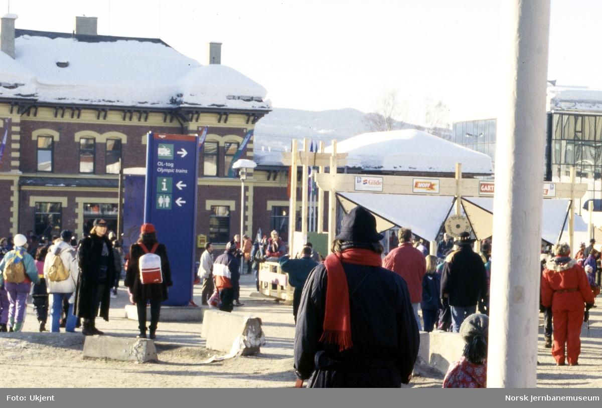 Lillehammer stasjon under OL i 1994